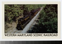 Western Maryand Scenic Railroad, Maryland, 1985-1991