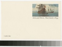 Ark and Dove, Maryland, 1984