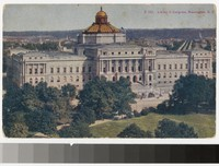Library of Congress, Washington, D.C., 1907-1914