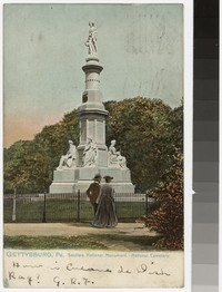 Soldiers National Monument, National Cemetery, Gettysburg, Pennsylvania, 1901-1907