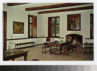 Assembly Room, Reconstructed State House, St. Mary's City, Maryland, 1951-1970