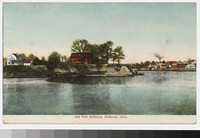 Old Fort Defiance, Defiance, Ohio, 1907-1914