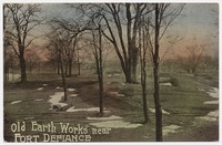 Old Earth Works near Fort Defiance, 1907-1914
