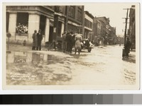 Flood on North Liberty Street, Cumberland, Maryland, 1936