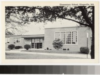 Kingsville Elementary School, Kingsville, Maryland, 1954-1980