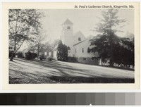 St. Paul's Lutheran Church, Kingsville, Maryland, 1951-1970